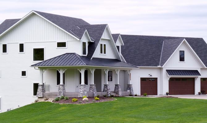 Durable steel siding