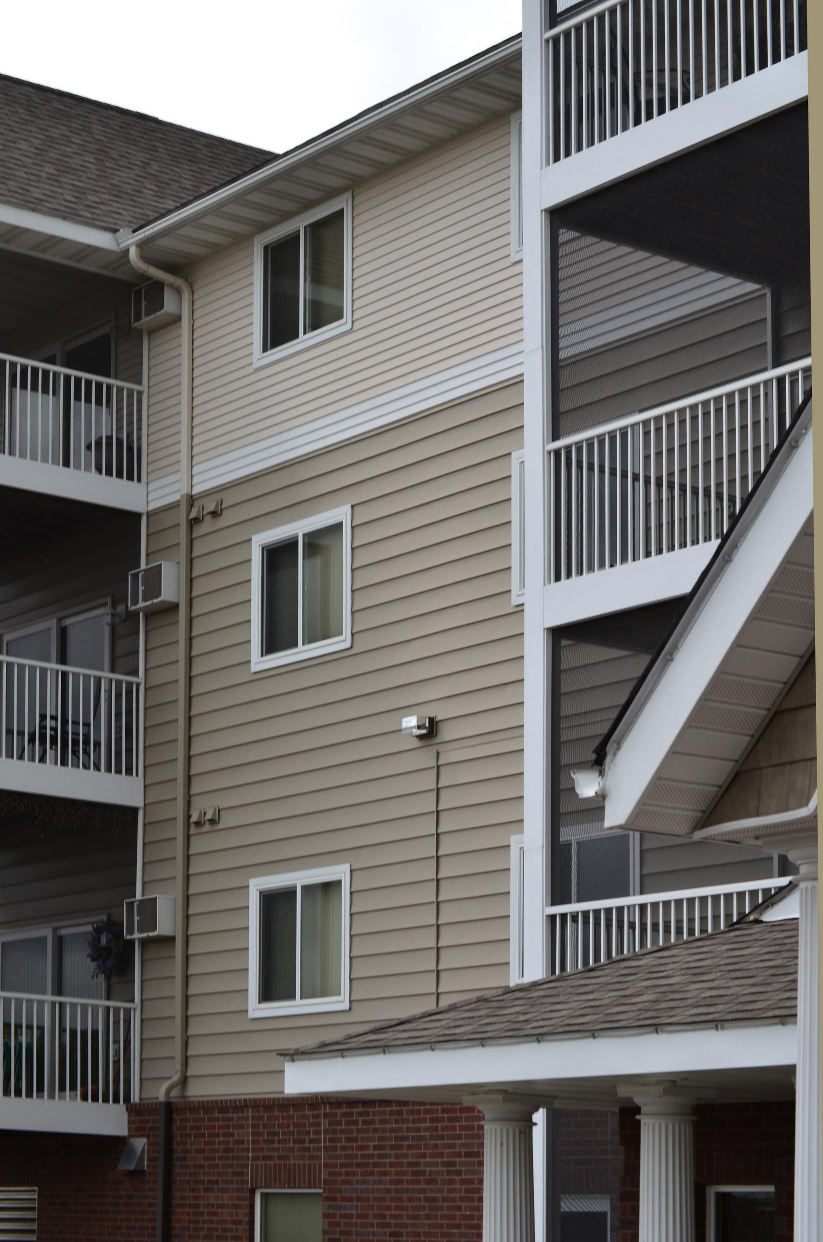 Three different types and colors of EDCO siding were used on this apartment buidling to give it a unique look to increase its curb side appeal