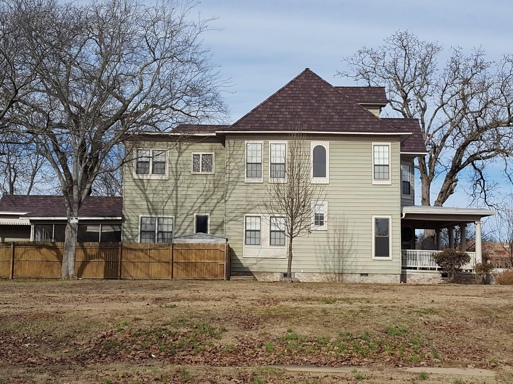A single-family home recently had an 80-year old stamped metal roof with an EDCO ArrowLine Shake roof in Royal Brown Enhanced
