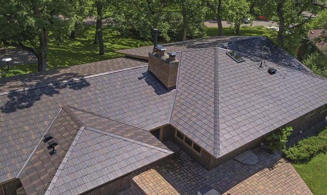 Award-winning, durable steel roofing