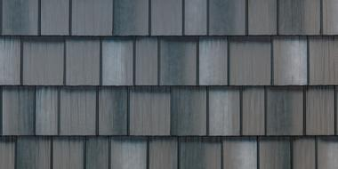 Blended Color Steel Siding Style