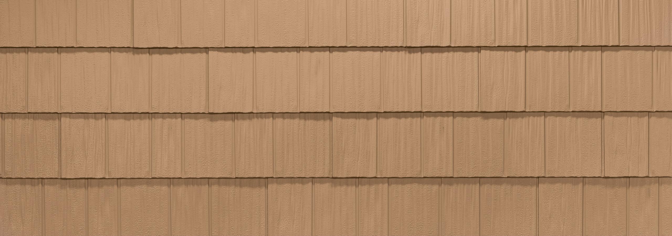 Cedar steel shake roofing