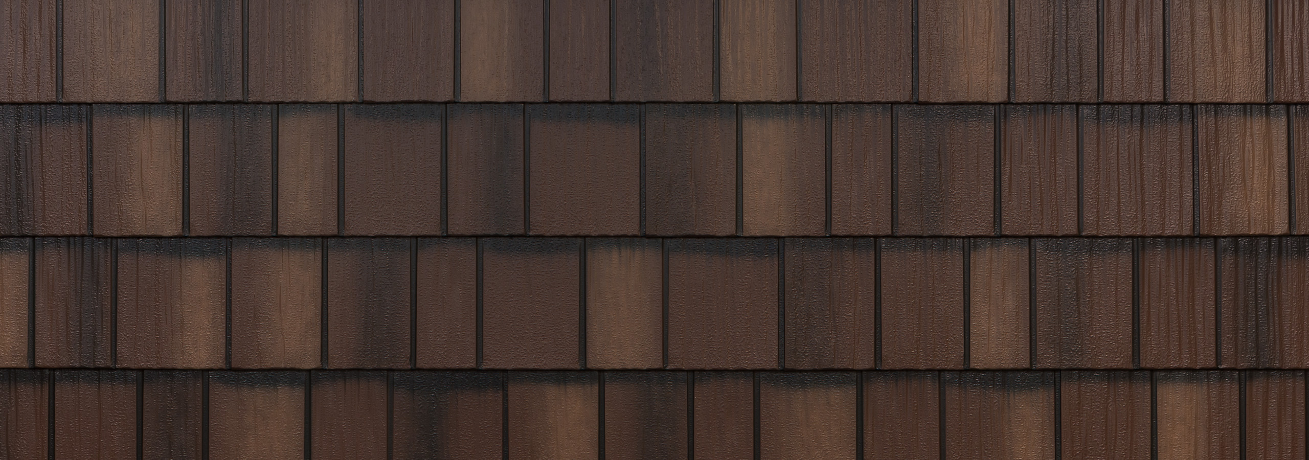 Arrowline shake royal brown steel siding