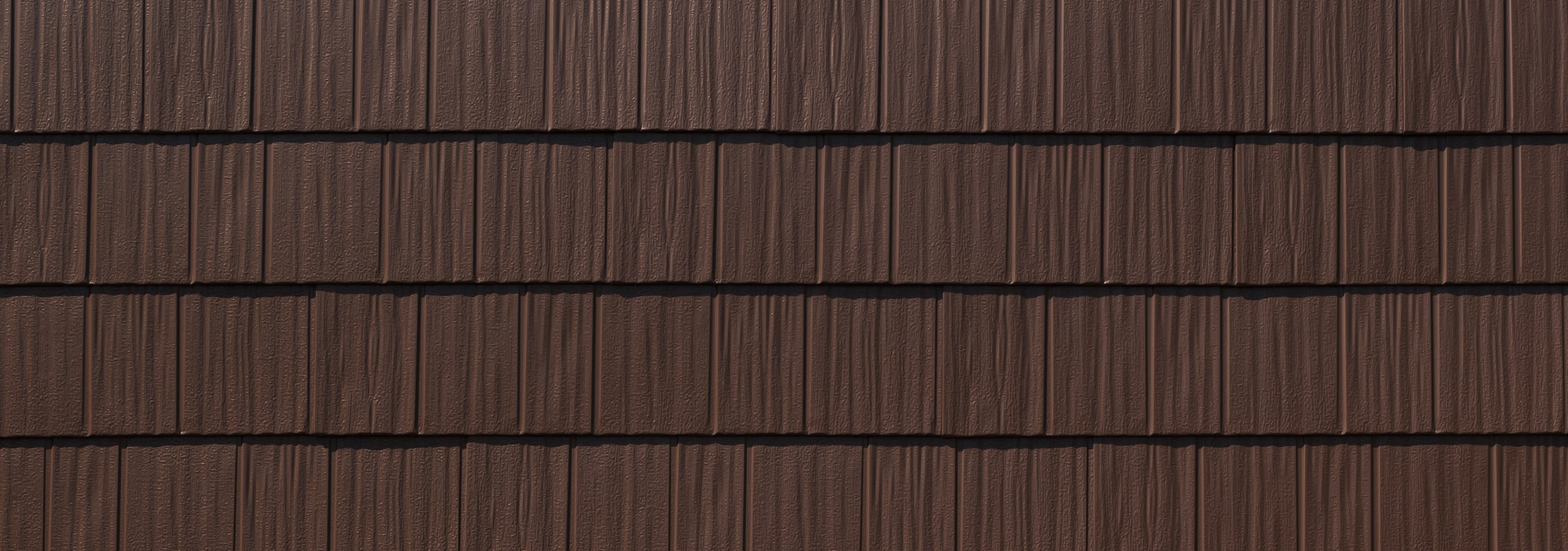 Arrowline shake charcoal gray/grey steel siding