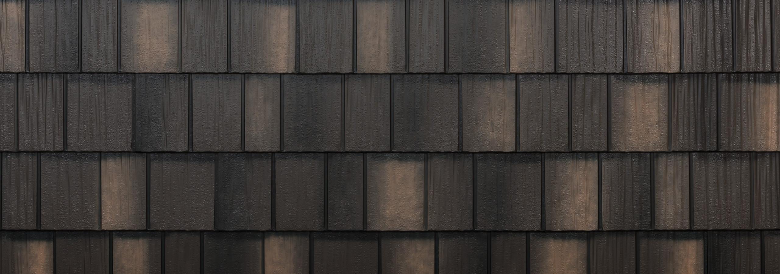 Arrowline shake bronze blend steel siding