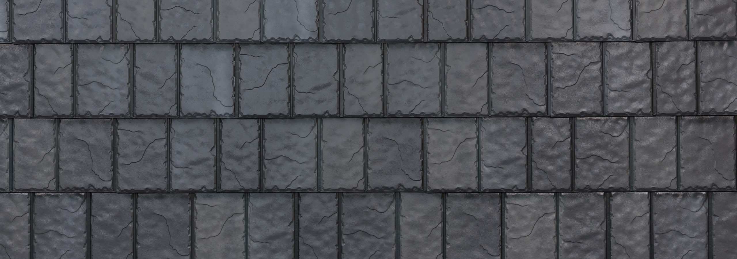 Stone steel slate roofing