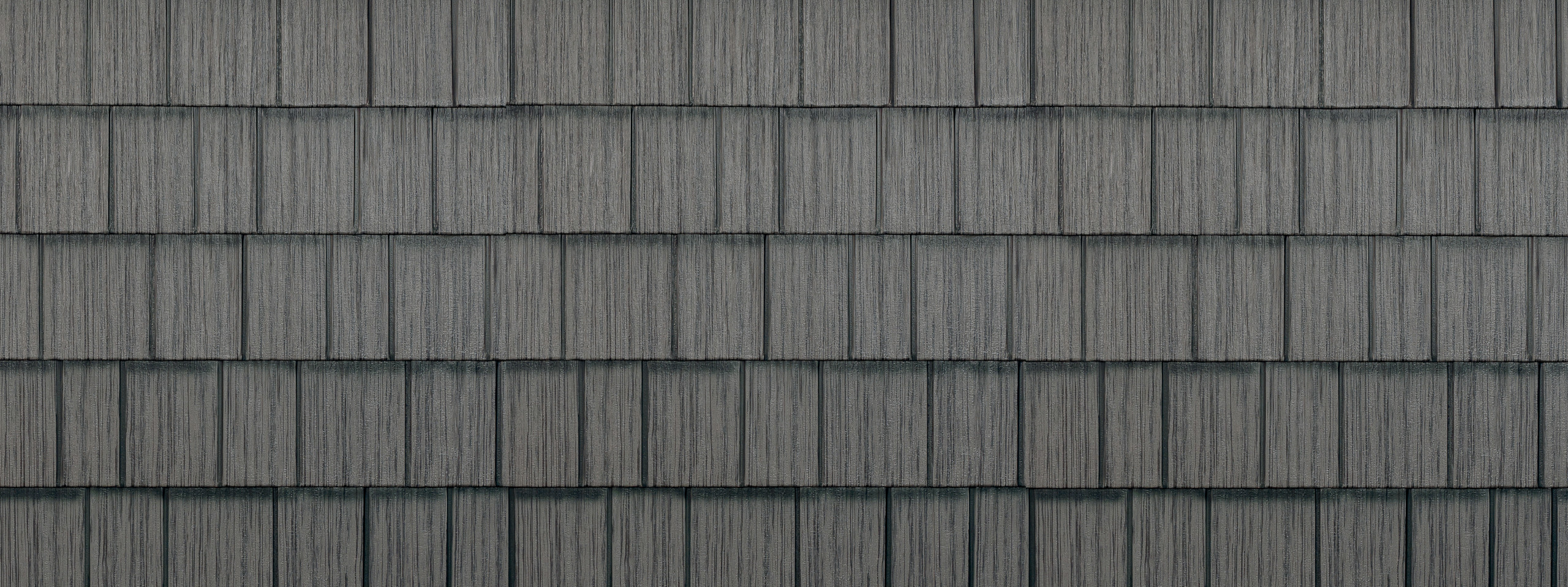 Charcoal gray/grey generations hd shake steel roofing
