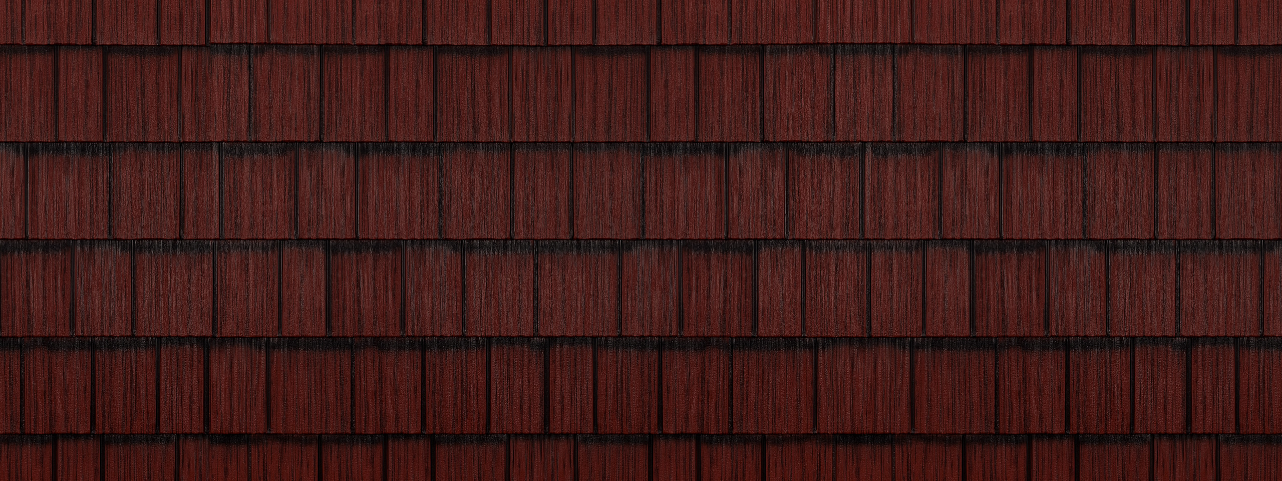 Classic red generations hd shake steel roofing