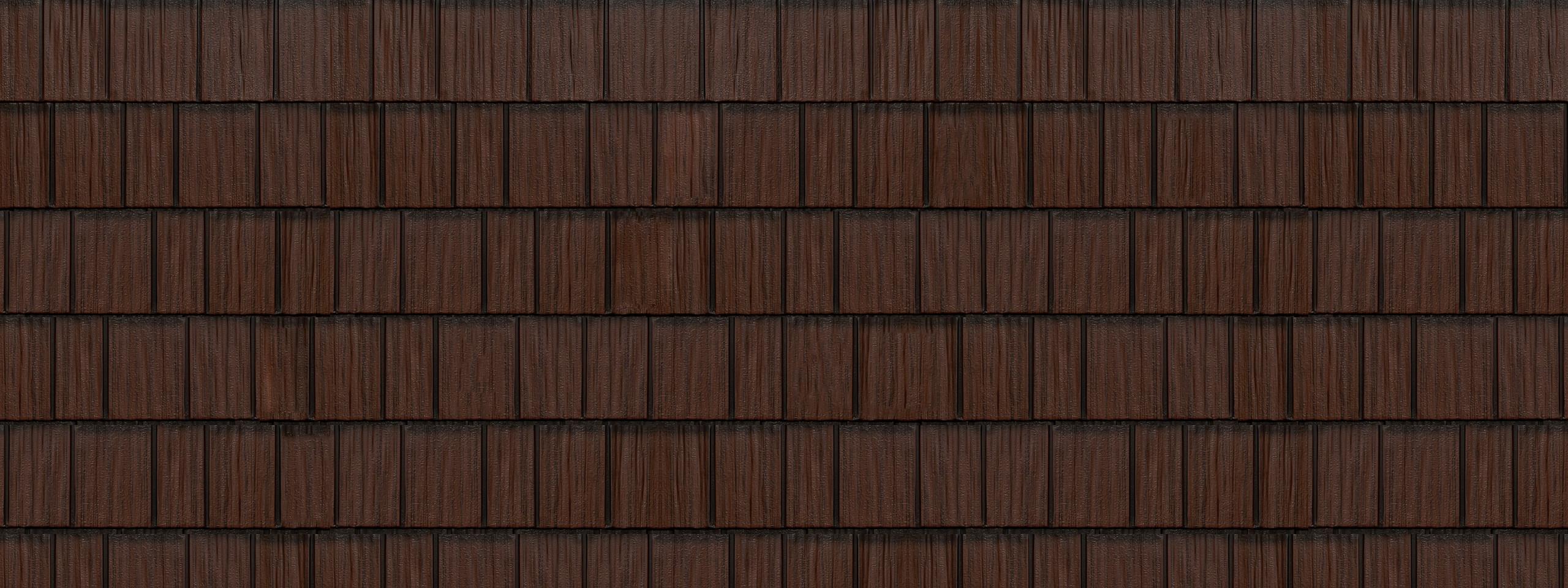 Royal brown generations hd shake steel roofing