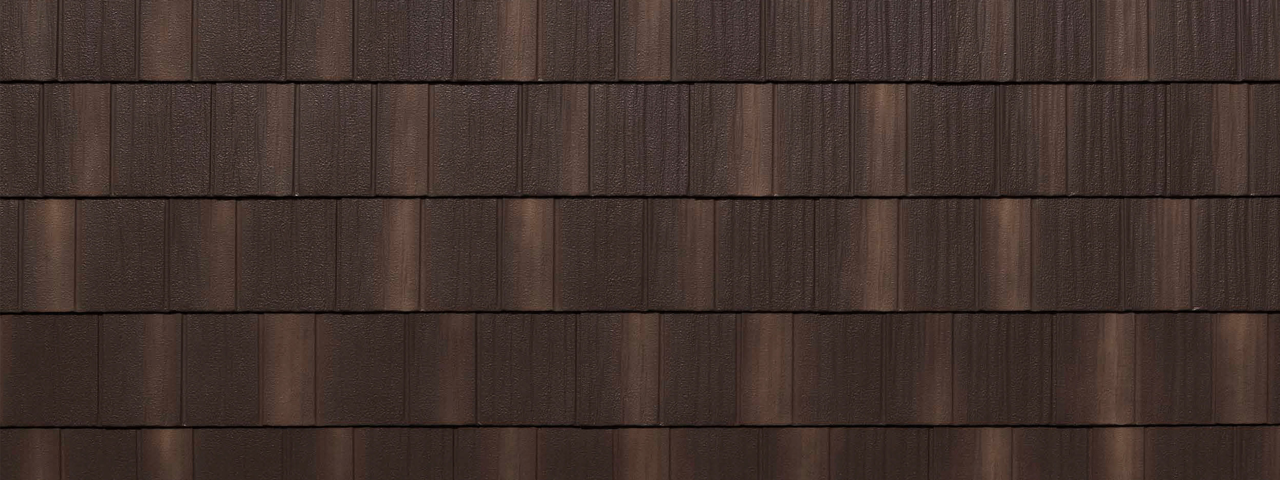 Infiniti chestnut brown stone coated shake roofing