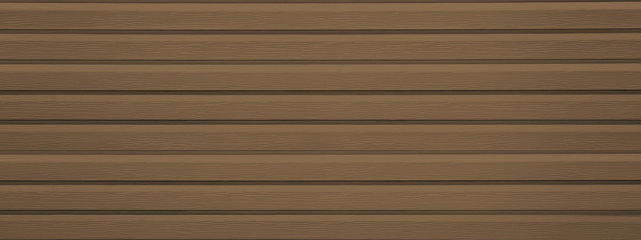 Entex dutchlap cedarwood steel siding