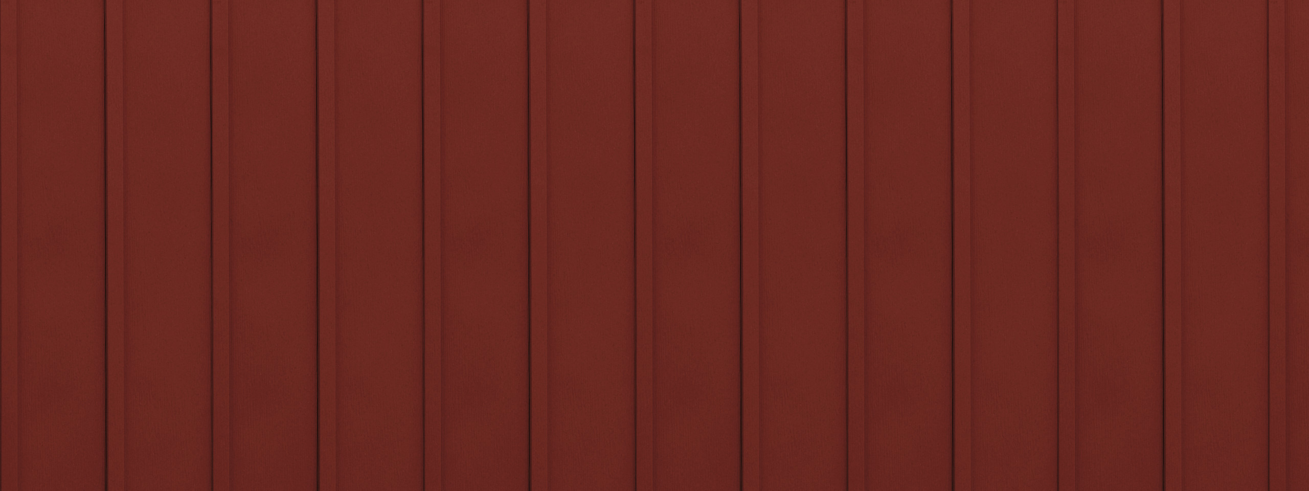 Entex vertical classic red board and batten steel siding