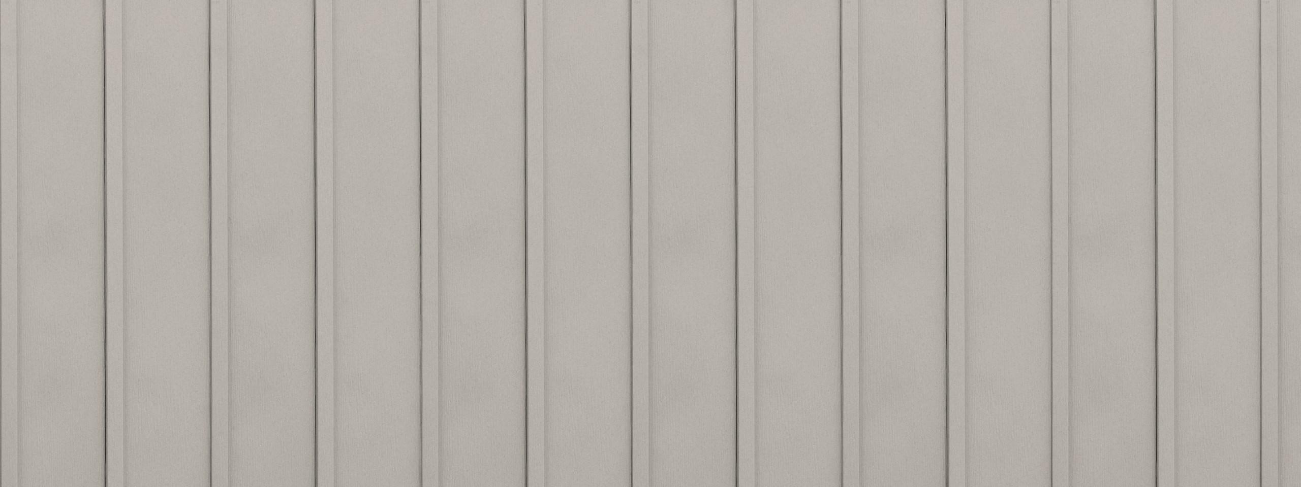 Entex vertical desert tone board and batten steel siding