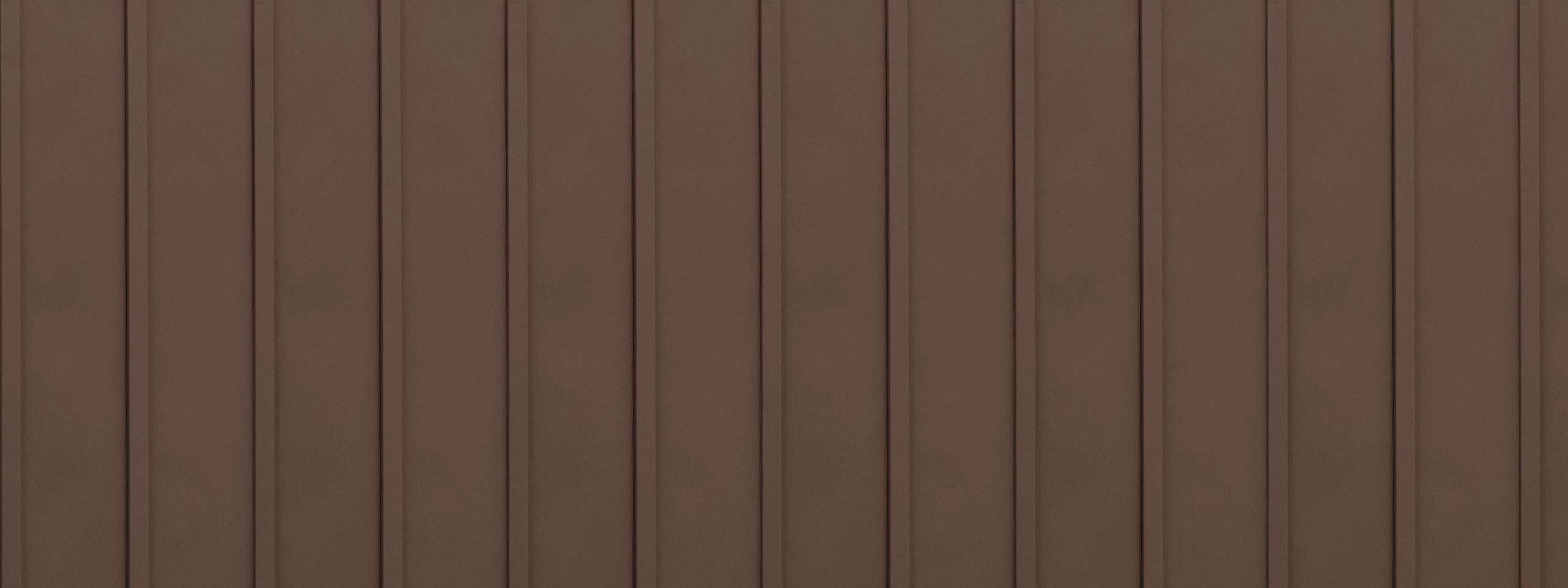 Entex vertical mahogany board and batten steel siding