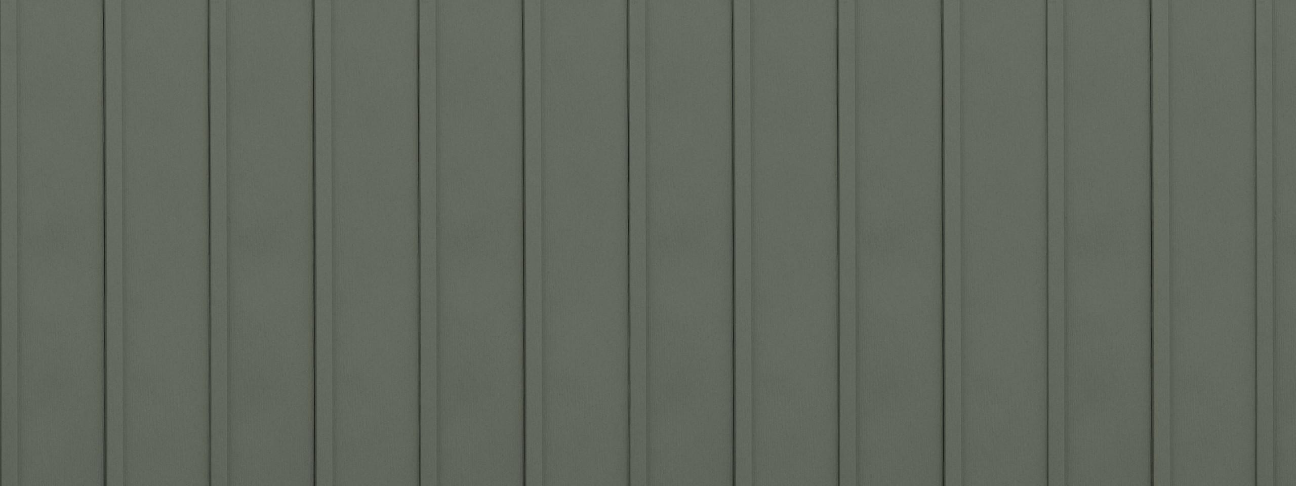 Entex vertical sage board and batten steel siding