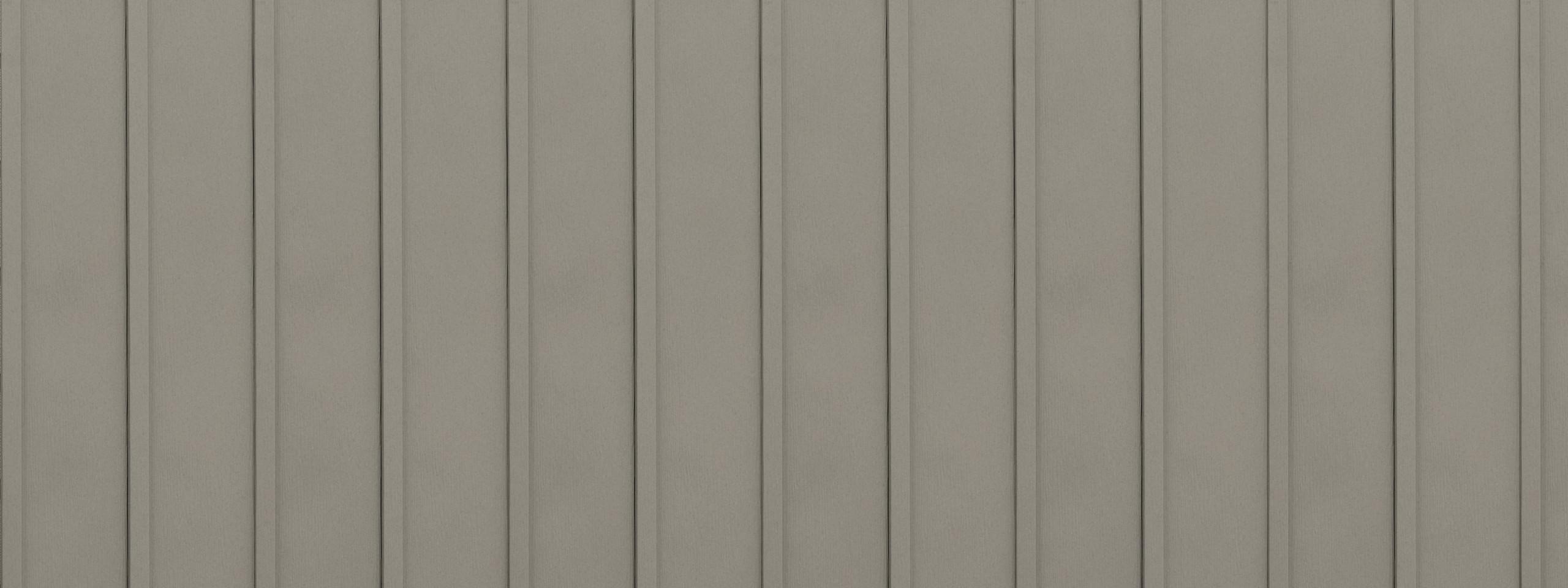 Entex vertical sandstone board and batten steel siding