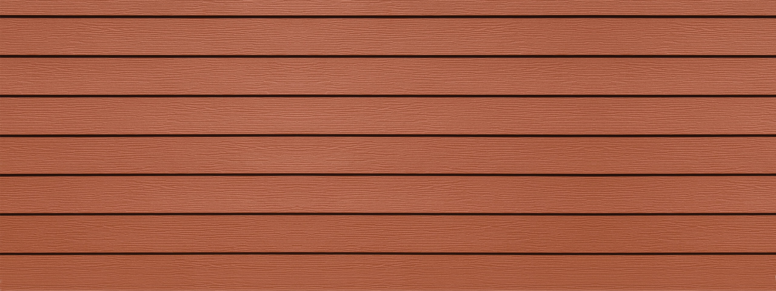 Prism Sedona red steel siding